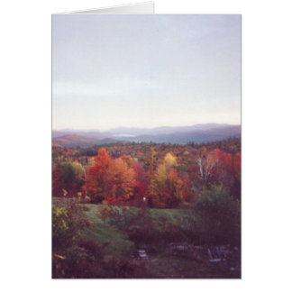"""Misty Morning, October 15, 2008"" Cards"