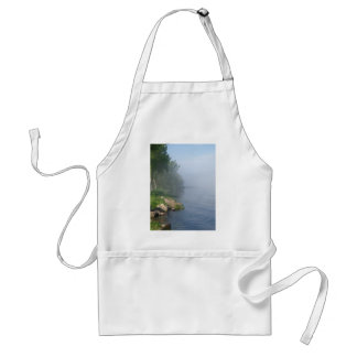 Misty morning on the water aprons