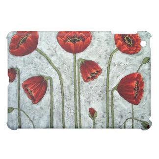 Misty Morning Poppies iPad Mini Cases