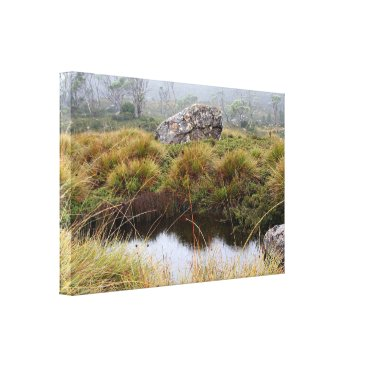franwestphotography Misty morning reflections canvas print