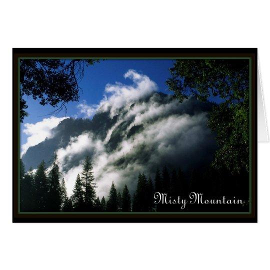 Misty Mountain Card
