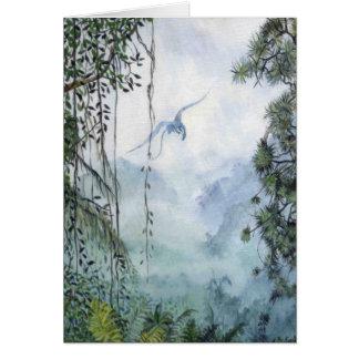 Misty Mountain Dragon Card