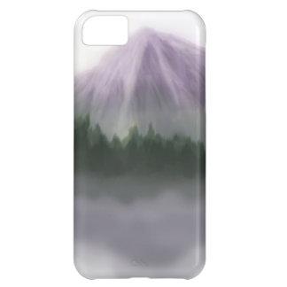 Misty Mountain Landscape iPhone 5C Cases