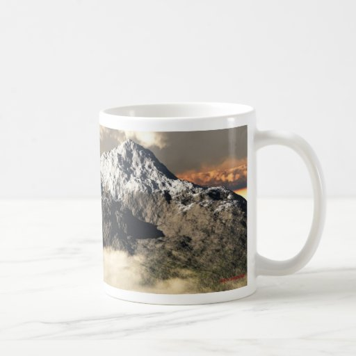 Misty Mountains mug
