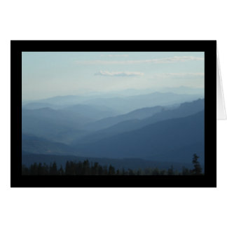 Misty Mountains- Song of Sol. 8:7 Greeting Card