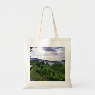 Misty Mountains The Great Smoky Mountains Tote Bag