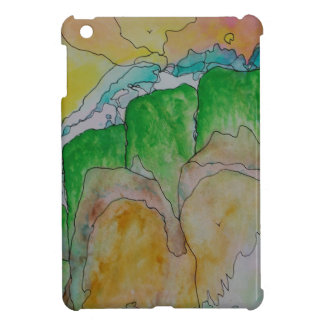 misty mountainside iPad mini cover