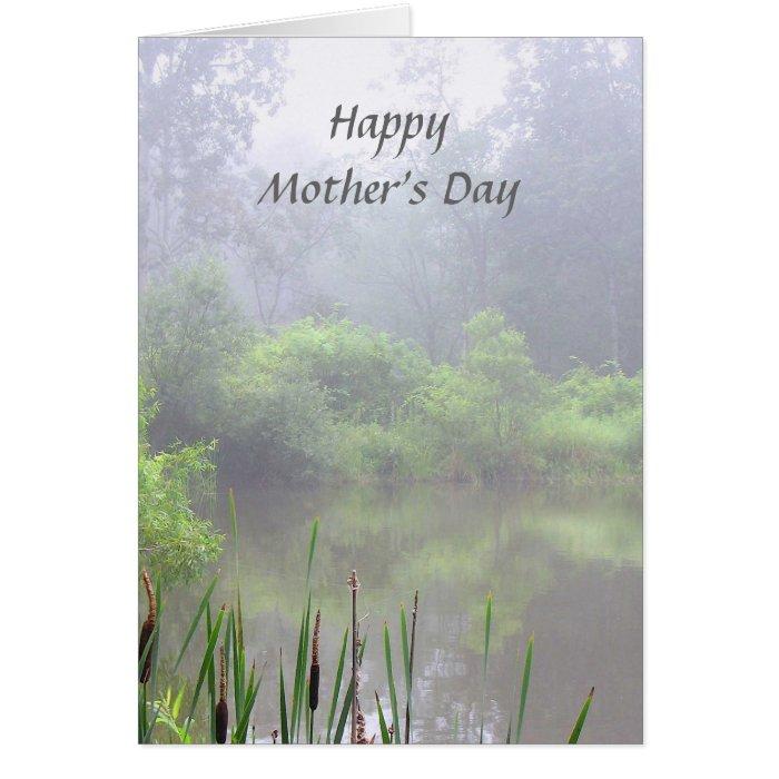 Misty Pond Mother's Day Card