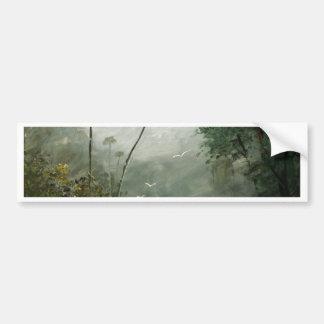 Misty River Dreams Bumper Sticker