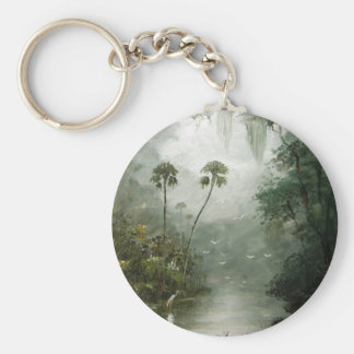 Misty River Dreams Keychain