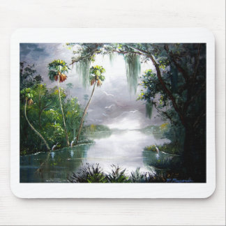 Misty River Moss Mouse Pad