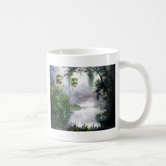 Misty River Moss Coffee Mugs