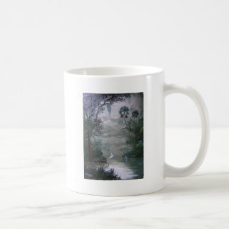 Misty River with Moss Coffee Mugs