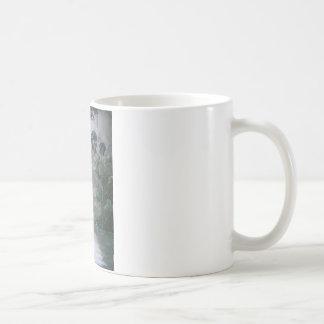 Misty River with Moss Coffee Mug