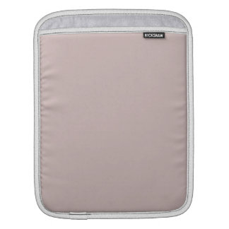 Misty Rose Solid Color Sleeves For iPads