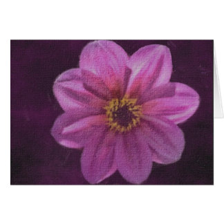 Misty Royal on Canvas Greeting Cards
