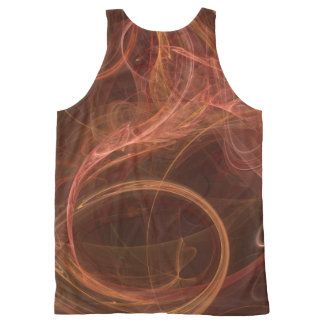 Misty Rust All-Over Print Tank Top