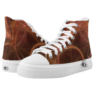 Misty Rust Printed Shoes