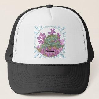 Misty Sea Coral Trucker Hat