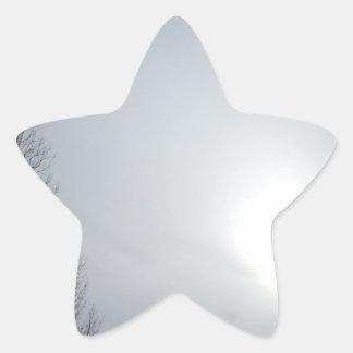 Misty Skies Star Sticker
