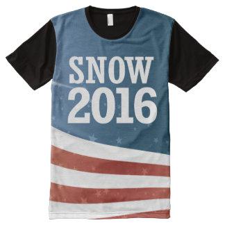 Misty Snow 2016 All-Over Print T-shirt