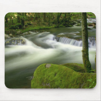 Misty Stream Mouse Pad