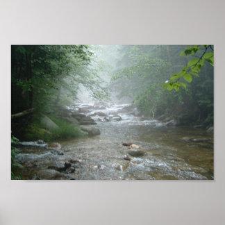 misty stream poster