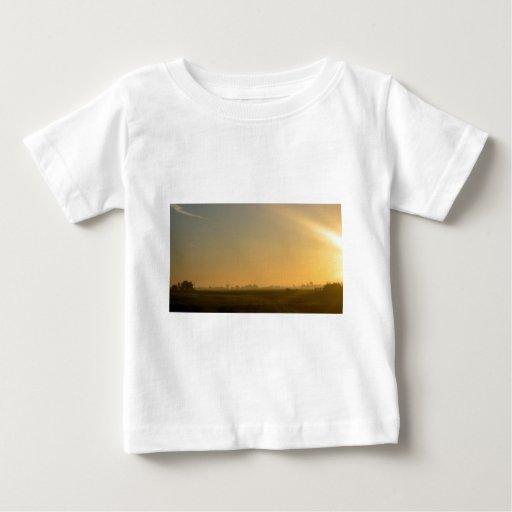 misty sunrise infant t-shirt