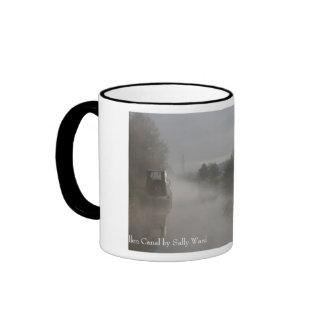 Misty Sunrise Llangollen Canal Coffee Mugs