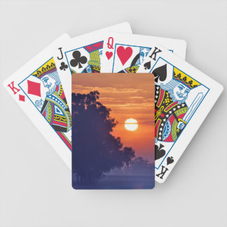 Misty Sunrise South Africa Bicycle Playing Cards