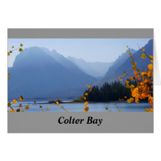 Misty Tetons Greeting Card