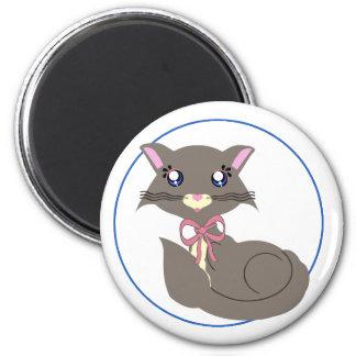 Misty Toon Kitty Magnet