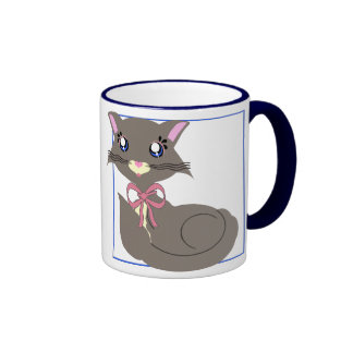 Misty Toon Kitty Mug