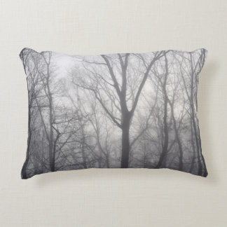Misty Trees Decorative Pillow