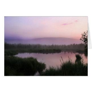 Misty Valley Card