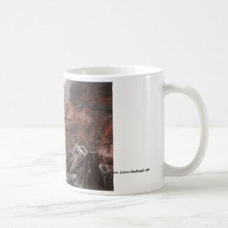 Misty Washington State Shoreline Coffee Mug