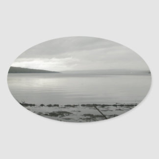 misty_water_colored_memories_by_dragonscot-d4z4e73 oval sticker