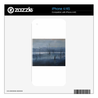 Misty water iPhone 4S skins