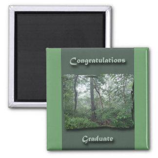 Misty Woods Congratulations Graduate Magnet