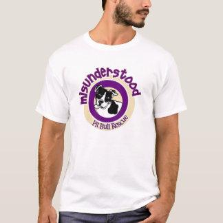 Misunderstood Pit Bull Rescue Pit Crew T-shirt