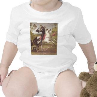 Mit de Jorge im Kampf Trajes De Bebé