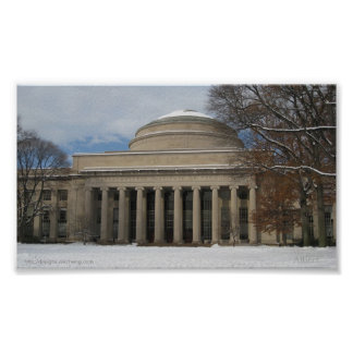 MIT Great Dome Winter Poster