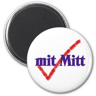 mit Mitt 2 Inch Round Magnet