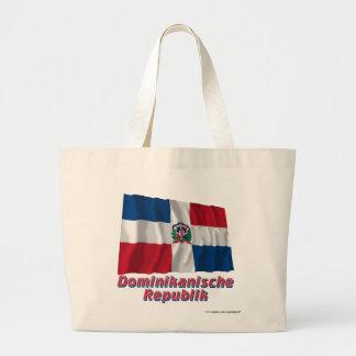Mit Namen de Dominikanische Republik Fliegende Bolsa Tela Grande