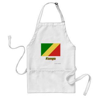 Mit Namen de Flagge del Kongo de Republik Delantal