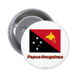 Mit Namen de Papua-Neuguinea Flagge Pins