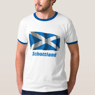Mit Namen de Schottland Fliegende Kreuzflagge Playera