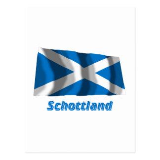 Mit Namen de Schottland Fliegende Kreuzflagge Postales