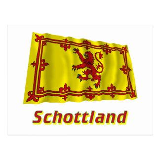 Mit Namen de Schottland Fliegende Löwenflagge Tarjetas Postales