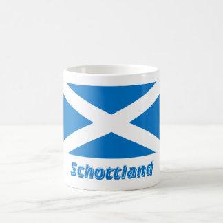 Mit Namen de Schottland Kreuzflagge Taza De Café